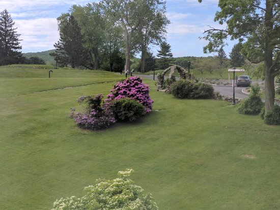 The Garrison - Golf, Restaurant, Events & Inn: View from our room
