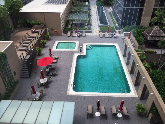 Pool From Lift Lobby Tripadvisor