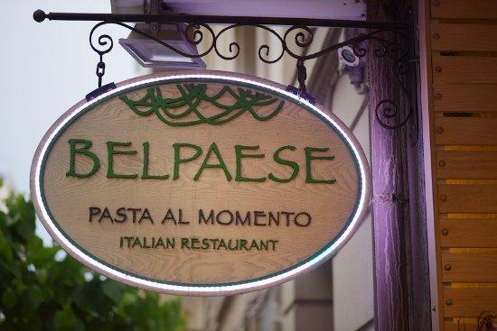 """Belpaese : COME DICE L`INSEGNA SOLO """"PASTA FRESCA AL MOMENTO"""""""
