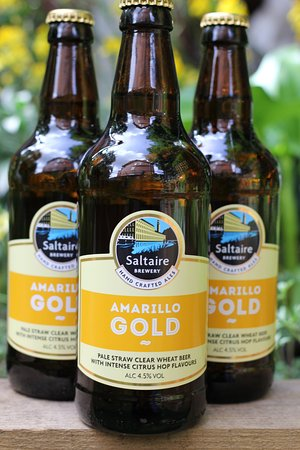 The Corner Cafe: Amarillo Gold from Saltaire Brewery.