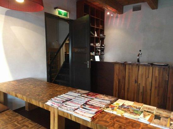 Ternaard, Nederland: Lounge area