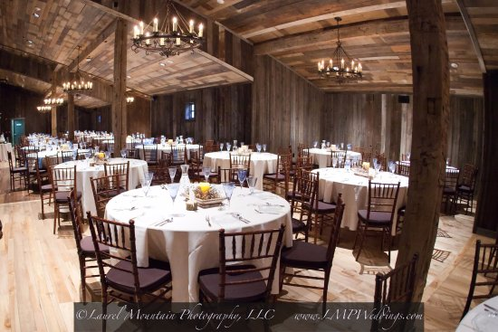 Stahlstown, PA: Mercantile Hall - Reception hall for up to 150 guests.