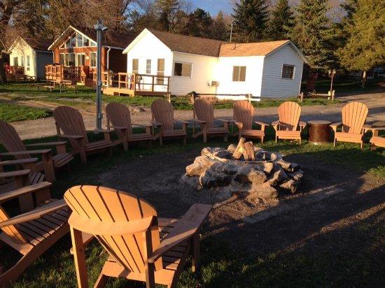 Merland Park Cottages: Bonfire Pit