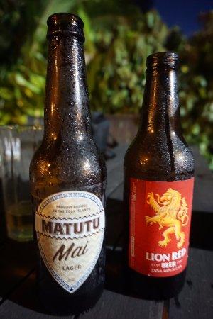 Vaima Polynesian Bar and Restaurant: fresh loca and nz beers