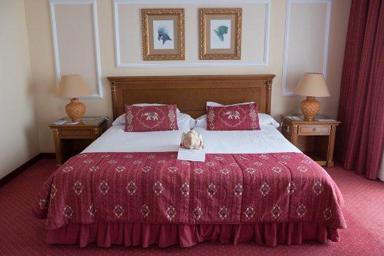 Hotel Botanico & The Oriental Spa Garden: Betten in der Junior Suite