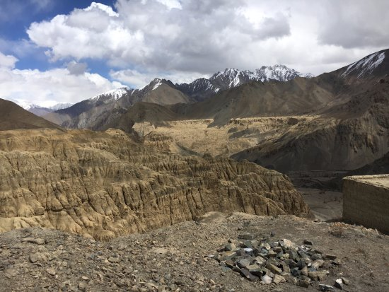View of Moonlands from Lamayuru