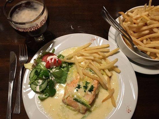 De Nachtuil : Birra Belga e Salmone
