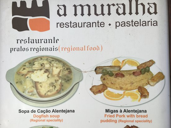 Restaurante A Muralha: The two dishes we ordered from the specials list. Can not go wrong!