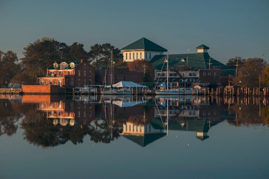 Elizabeth City, NC: Our waterfront area and Museum of the Albemarle.