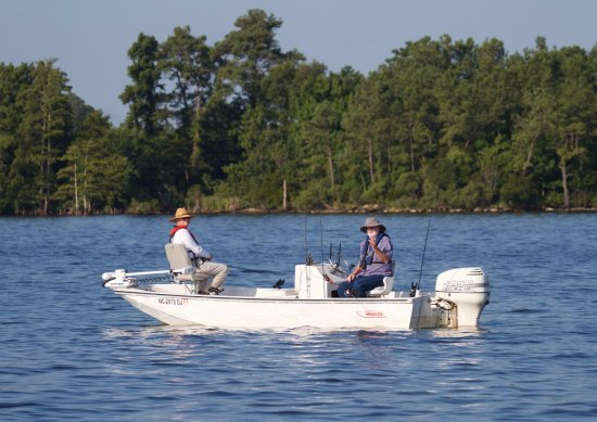 Elizabeth City, NC: Fish on the Pasquotank River and Albemarle Sound. Fishing charters available.