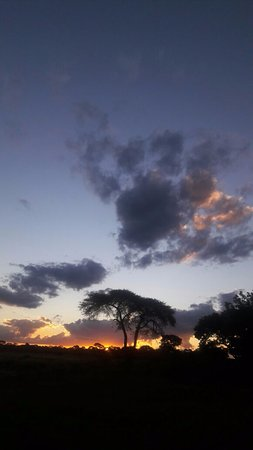Elephant's Eye, Hwange: Sunset