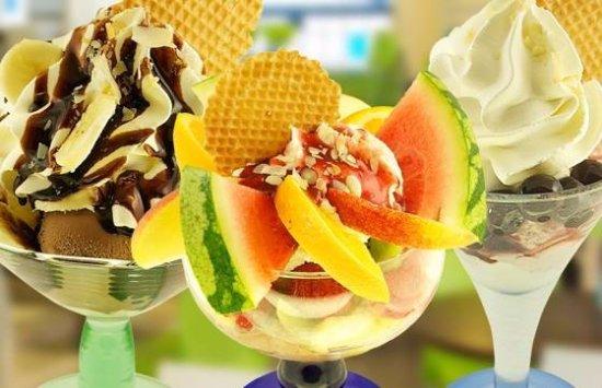 Lyngdal Municipality, Noruega: Delicious Hennig Olsen icecream