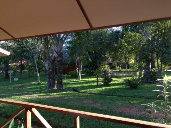 Manish Hotel Ecologico: La hermosa vista desde una de las cabañas :)