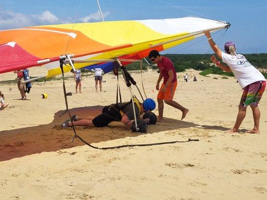 Kitty Hawk Kites Hang Gliding School : class