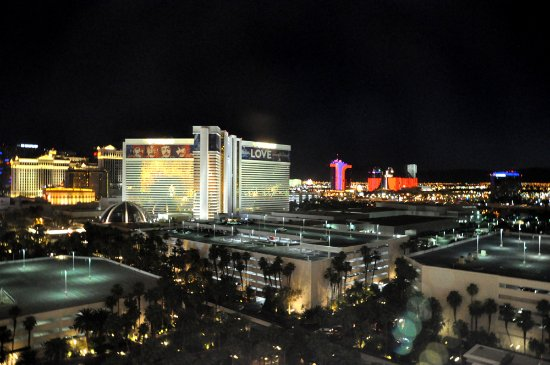 Casino at Treasure Island : The view from the room.