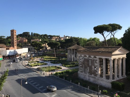 Fortyseven Hotel Rome: View from the Executive room.