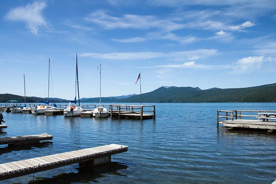 Crescent Lake, OR: Marina on Odell Lake