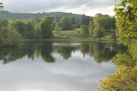 Loch Monzievaird Self Catering Lodges : view from lodge 11