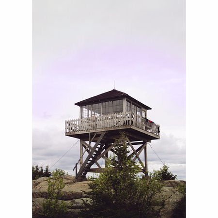 Mount Kearsarge: Fire tower.