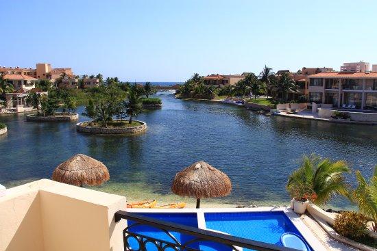 Aventuras Club Lagoon : Terrace View