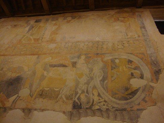 Gormaz, Spanyol: Interior ermita