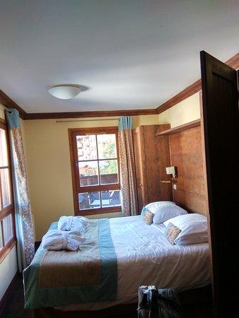Radisson Blu Resort, Arc 1950: dormitorio
