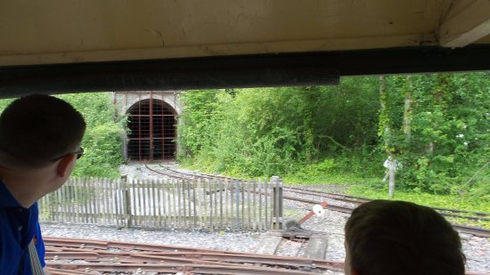 Amberley, UK: The tunnel is part of the James Bond connection!