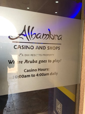Aruba gambling tips