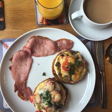 Brighton House: Veggie breakfast. Perfect!