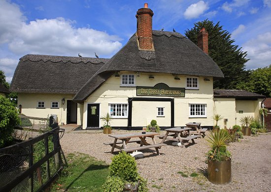 Takeley, UK: Pub from road