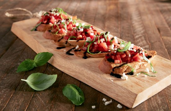 Decatur, GA: Fresh Bruschetta Appetizer