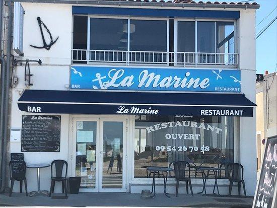 La marine port des barques 4 avenue de la republique - Hotel port des barques charente maritime ...