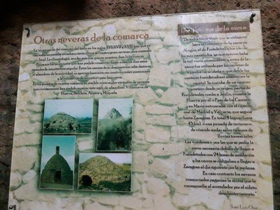 Fuendetodos, إسبانيا: Nevera de Culroya
