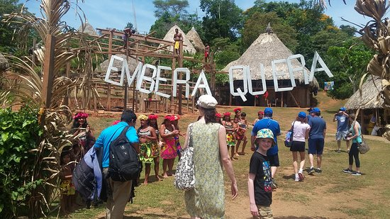 Patty's Casitas: Embera Indigenous village
