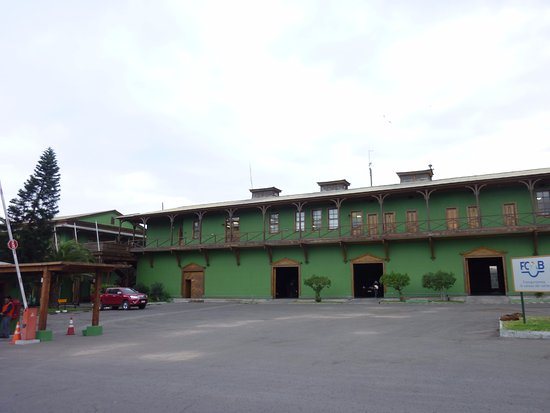 Antofagasta, Chili: Another view of the station museum from the front