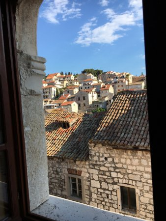 Villa Nora Hvar: view out of one of the windows
