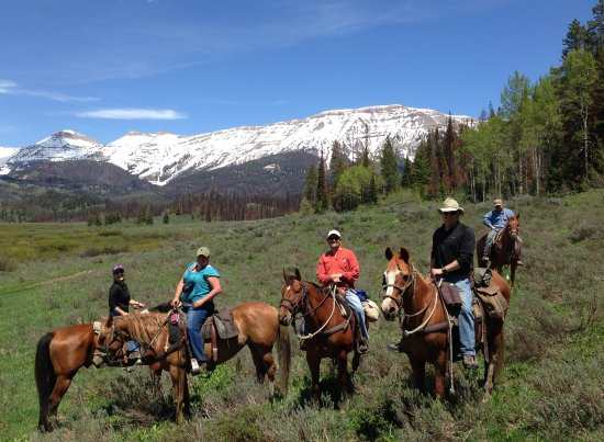 Pinedale, WY: We are not a nose to tail ride--with us you will see Pure Wyoming back country.