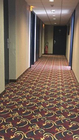Hotel Le Paris : Corridors