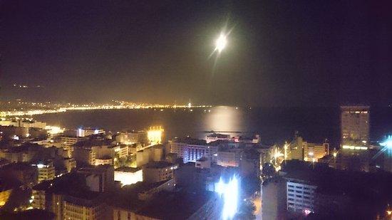 Alsancak : Izmir by night, from my room 💜