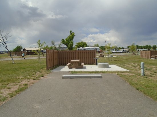 Manila, UT: The privacy fencing/wind block were nice and not at all lots