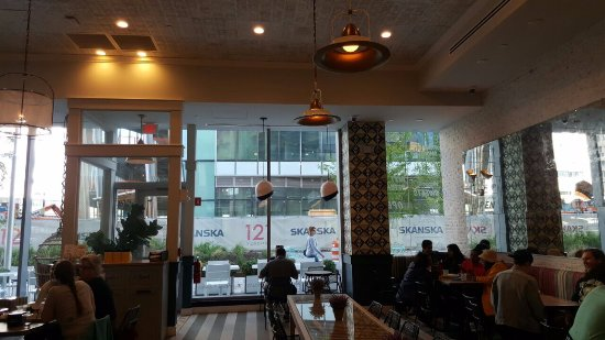 Nice decoration and settings. - Picture of by CHLOE. Boston Seaport on