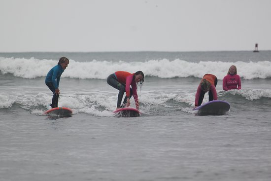Dana Point, CA: Here for the summer or just passing through?  We can teach you to surf today! girlinthecurl.com