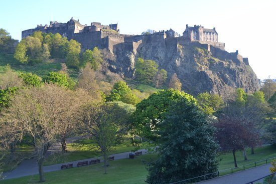 Amazing view of the castle from the gardens - Picture of Princes ...