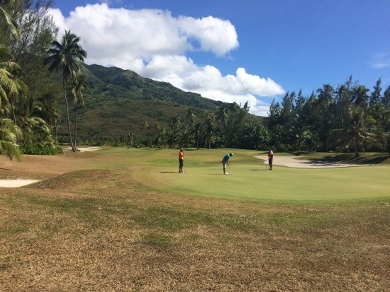 Moorea Green Pearl Golf Course : Green n°7