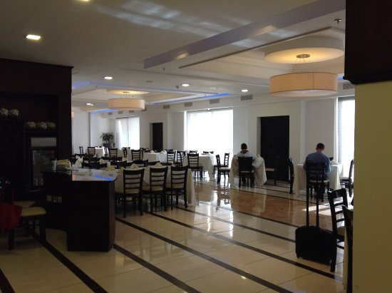 Amman Airport Hotel: Breakfast room