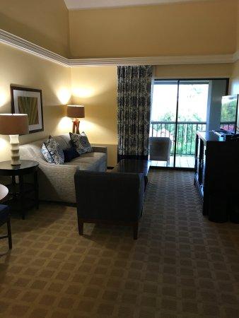 Sheraton Kauai Resort Room 7405 Living