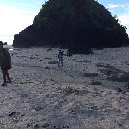 Palanan, الفلبين: Unspoiled white sand