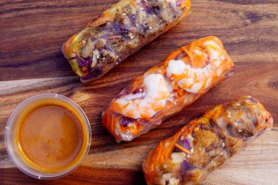 Banh You Vietnamese Street Food Circular Quay Rice Paper Rolls