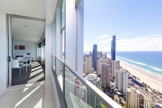 Q1 Resort and Spa  Q1 Resort   Spa 3 Bedroom Sub Penthouse Apartment    Balcony. Q1 Resort   Spa 3 Bedroom Sub Penthouse Apartment   Balcony Views