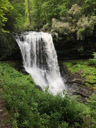 Breathtaking waterfall